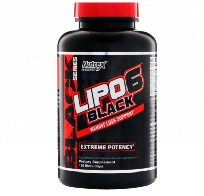 Lipo 6 Black Ultraconcentrado 120 Caps