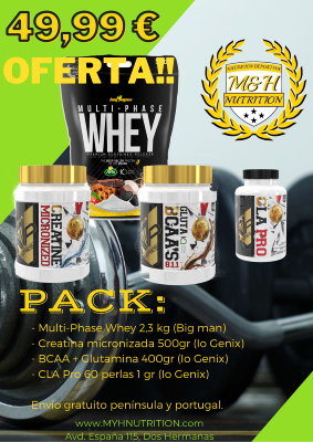 Pack Ganancia masa muscular